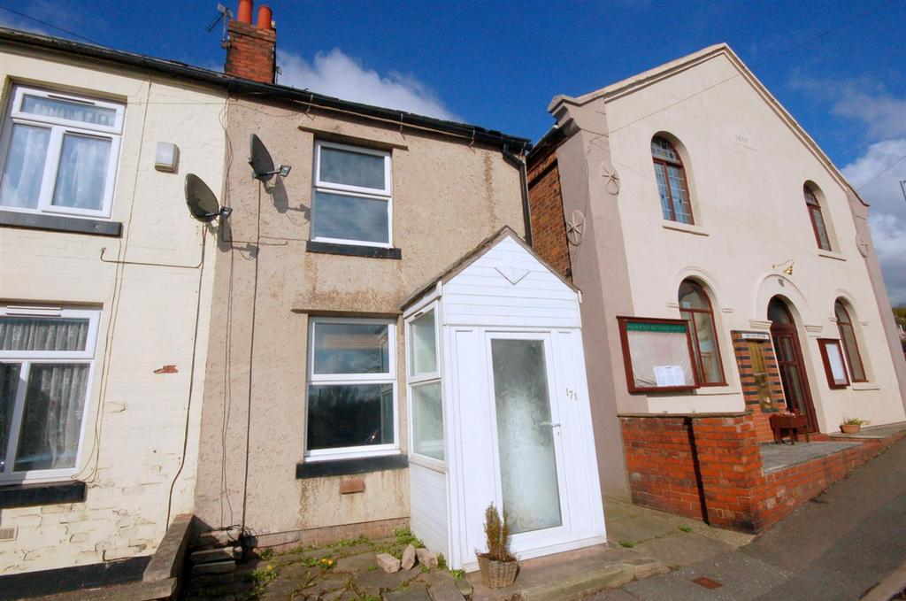 2 Bedrooms Terraced House for sale in High Street, Halmer End
