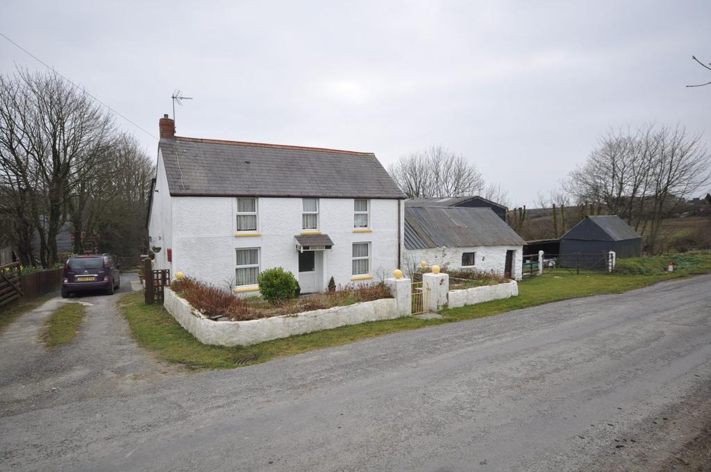2 Bedrooms Farm House Character Property for sale in Blaenpant, Blaenwaun, Whitland, Carmarthenshire SA34 0JG