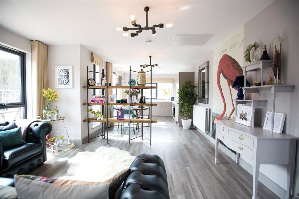 2 Bedrooms Flat for sale in Paintworks, Arnos Vale, Bristol, BS4