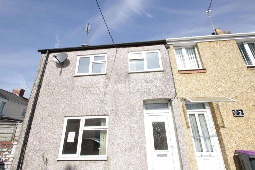 3 Bedrooms End Of Terrace House for sale in Conway Terrace, Croesyceiliog