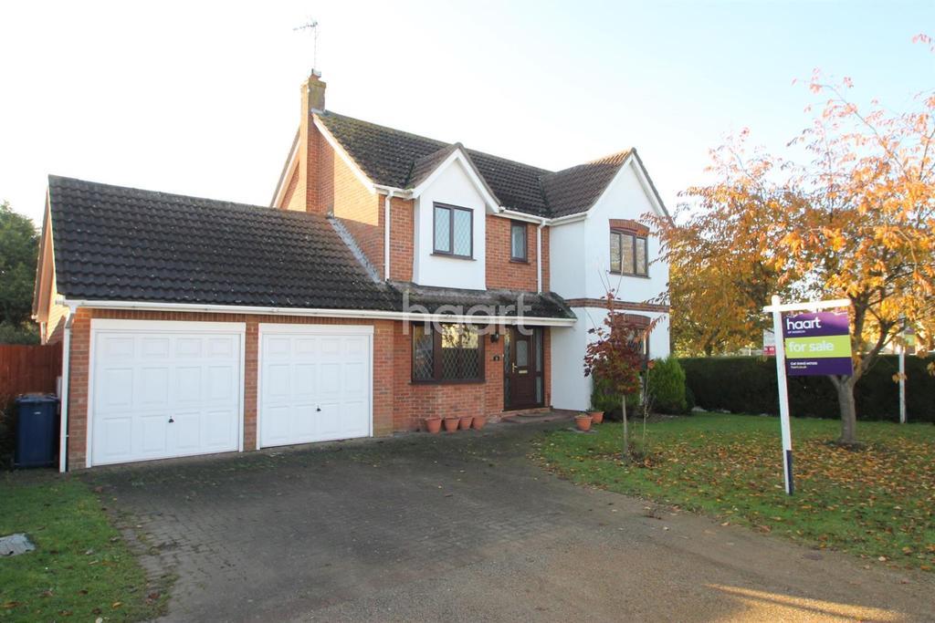 4 Bedrooms Detached House for sale in Kestrel Drive , Wisbech