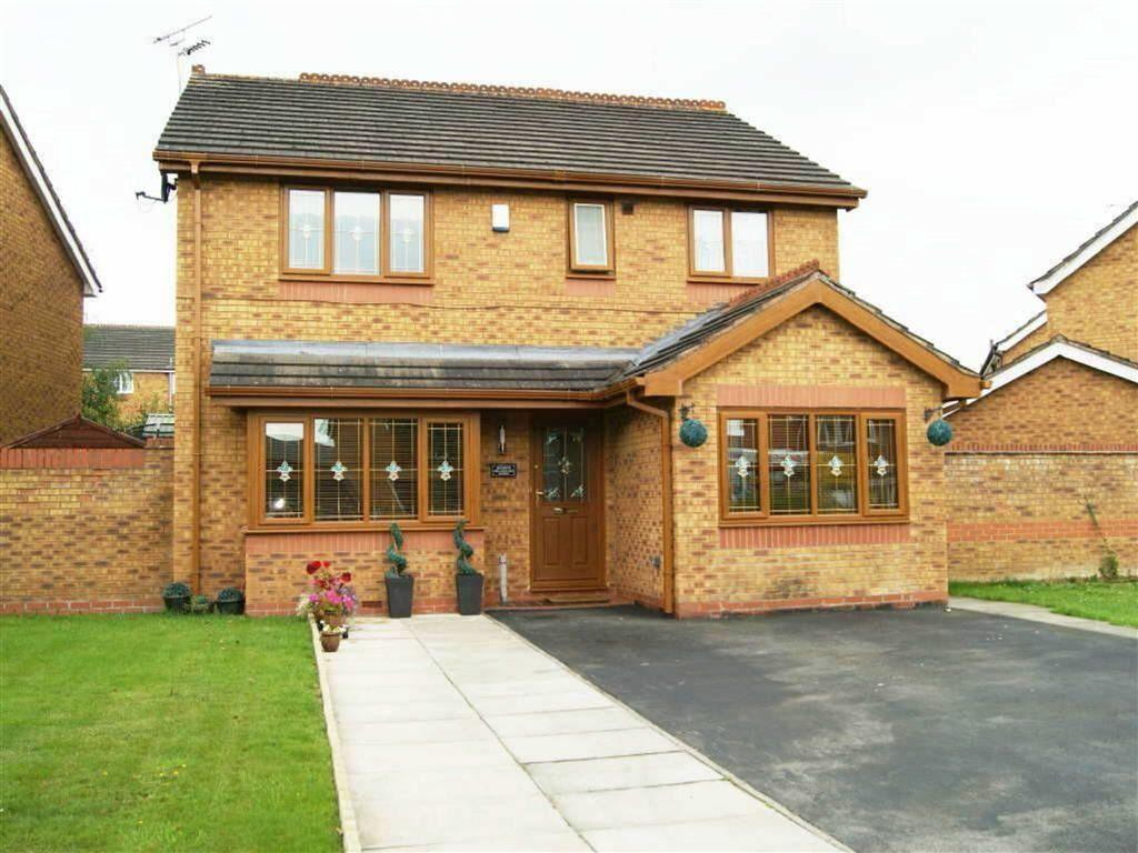 4 Bedrooms Detached House for sale in Shellbrook Drive, Ruabon, Wrexham