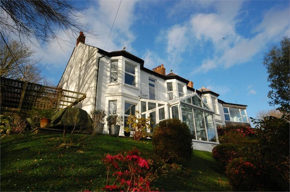4 Bedrooms Semi Detached House for sale in School Hill, Golant, Fowey, Cornwall