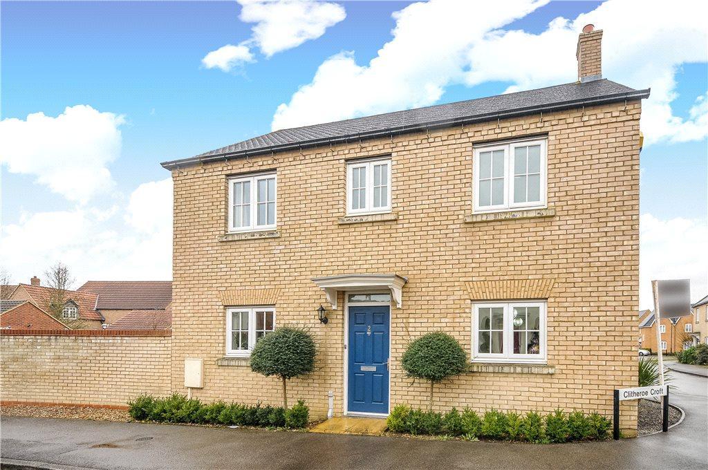 3 Bedrooms Detached House for sale in Clitheroe Croft, Kingsmead, Milton Keynes, Buckinghamshire