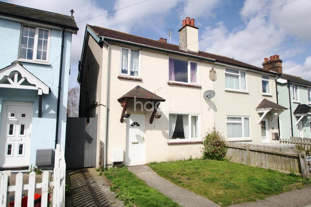 3 Bedrooms Semi Detached House for sale in California Road, Mistley, Manningtree, Essex