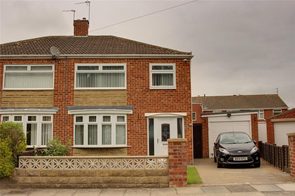 3 Bedrooms Semi Detached House for sale in Carron Grove, Normanby