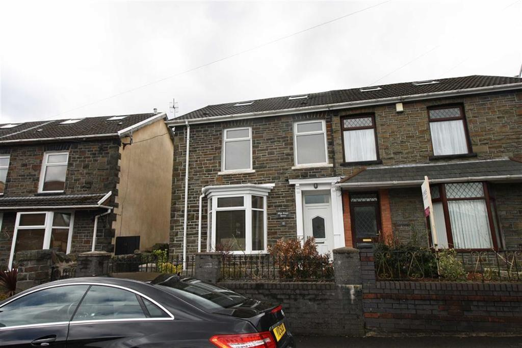 3 Bedrooms Semi Detached House for sale in Harcourt Road, Mountain Ash