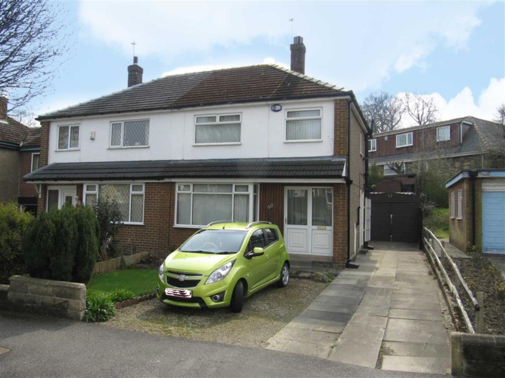 3 Bedrooms Semi Detached House for sale in Southfield Road, Almondbury, Huddersfield, HD5