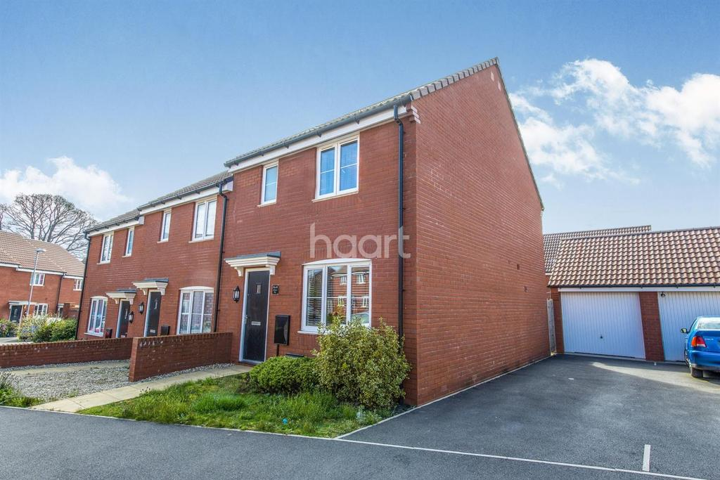 3 Bedrooms End Of Terrace House for sale in Lilliana Way, Bridgwater