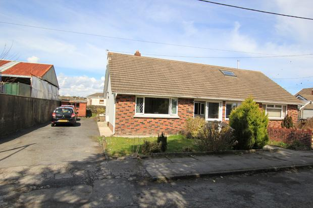 2 Bedrooms Semi Detached Bungalow for sale in No 3 Tir Owen, Station Road, St. Clears, Carmarthenshire