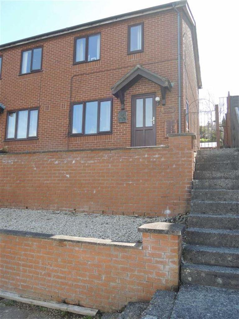 2 Bedrooms Semi Detached House for sale in 21, Brimmon Close, Newtown, Powys, SY16