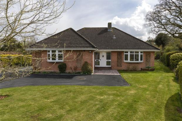 4 Bedrooms Detached Bungalow for sale in Aspen Grove, Shrewsbury, Shropshire