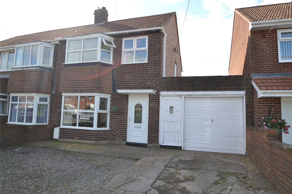 3 Bedrooms Semi Detached House for sale in Marcia Avenue, Shotton, DH6