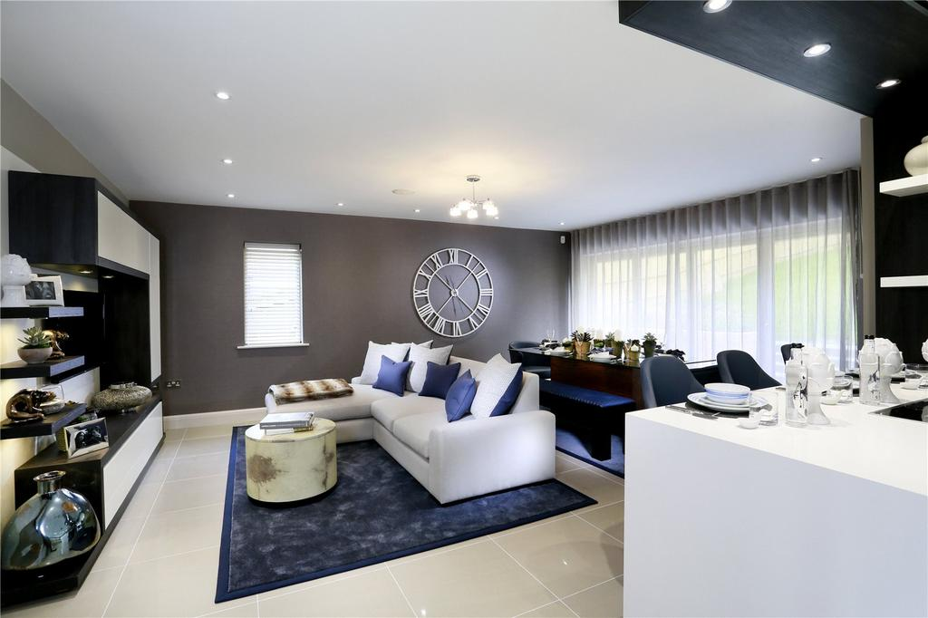 4 Bedrooms Detached House for sale in St Georges View, Wells Lane, Ascot, Berkshire