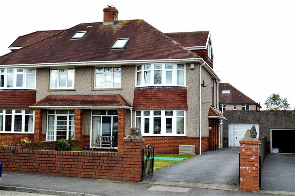 4 Bedrooms Semi Detached House for sale in Saunders Way, Swansea, SA2