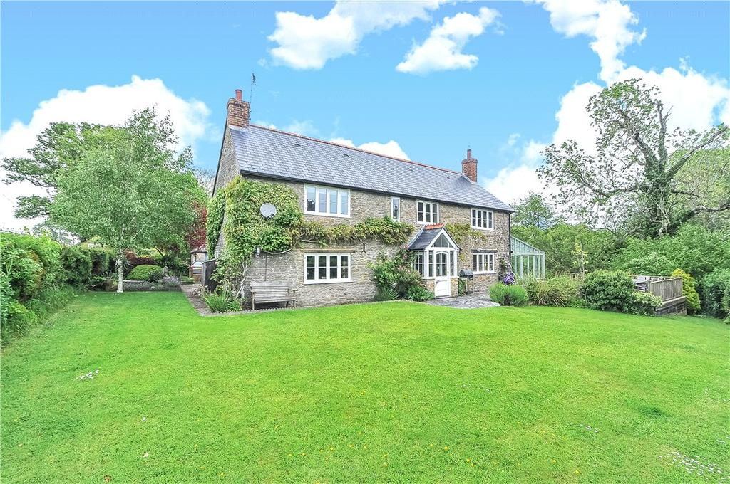 4 Bedrooms Detached House for sale in Chetnole, Sherborne, Dorset, DT9