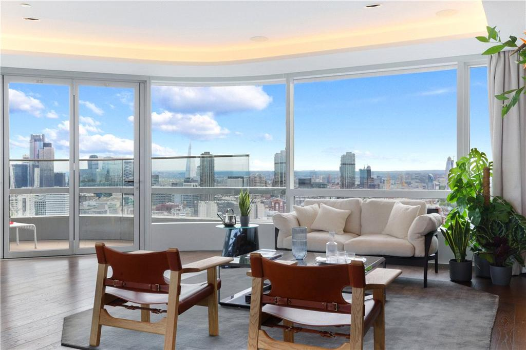 3 Bedrooms Flat for sale in Canaletto, 257 City Road, Islington, London, EC1V