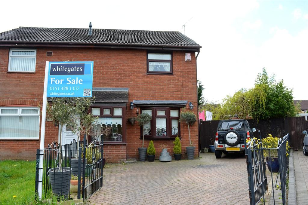 3 Bedrooms Semi Detached House for sale in Ravenfield Close, Liverpool, Merseyside, L26