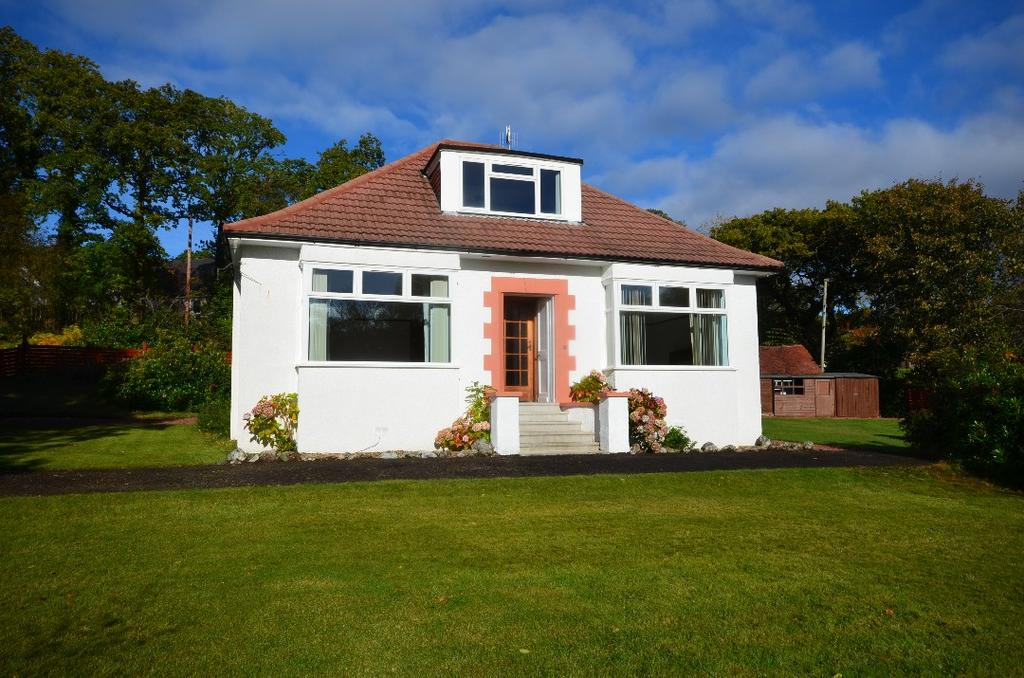 4 Bedrooms Detached Bungalow for sale in Smiddy Road, Garelochhead, Argyll and Bute, G84 0FW