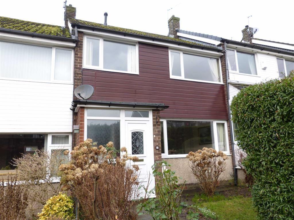 3 Bedrooms Terraced House for sale in Ashfield Road, Hadfield, Glossop