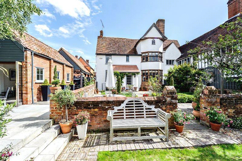 5 Bedrooms Semi Detached House for sale in Benton Street, Hadleigh, Ipswich, Suffolk, IP7