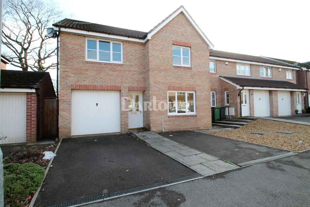 4 Bedrooms Detached House for sale in James Court, St Mellons, Cardiff