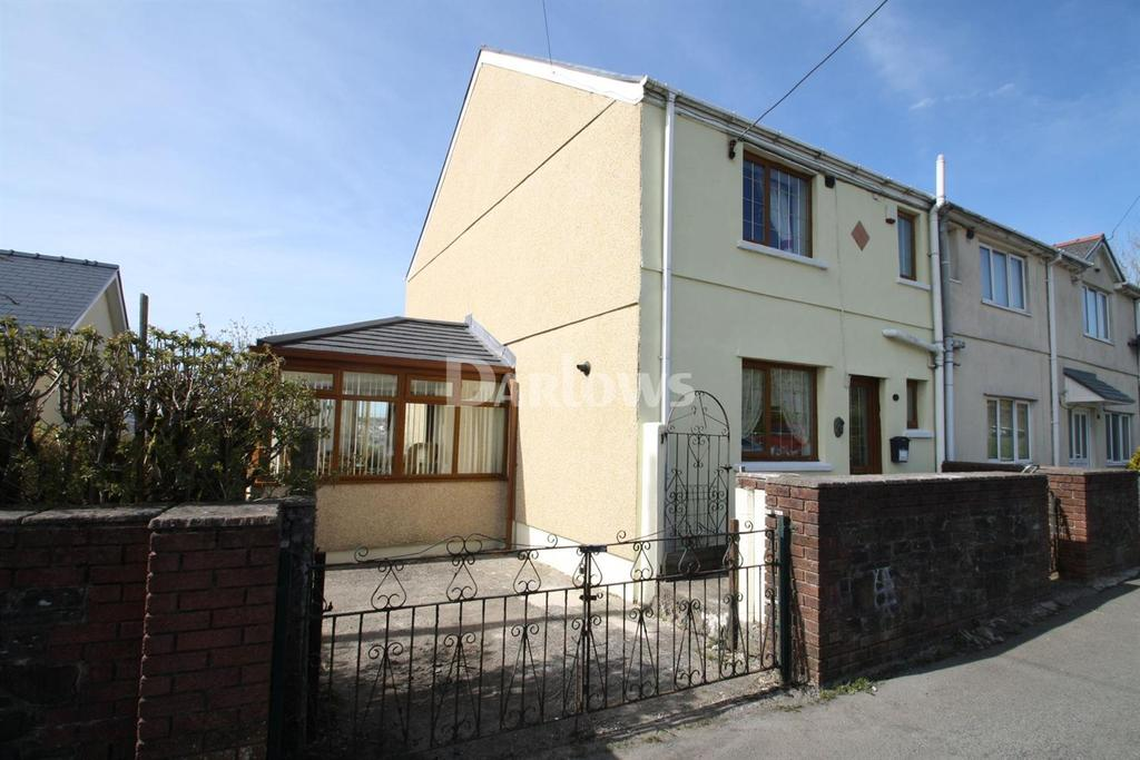 3 Bedrooms Semi Detached House for sale in Bryn View, Nantyglo, Blaenau Gwent