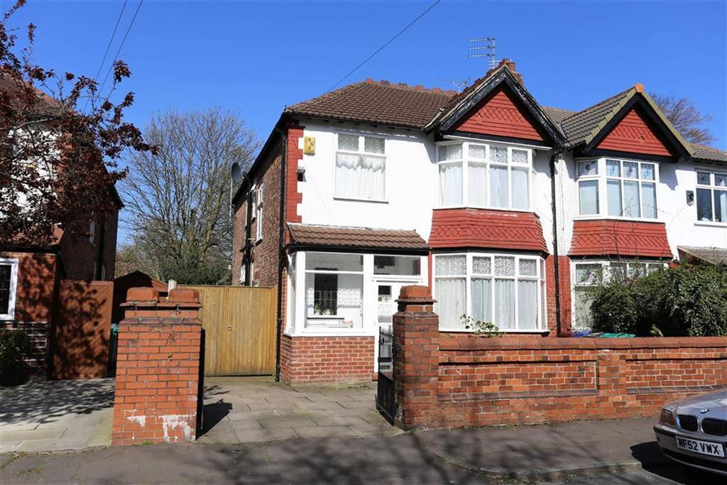 4 Bedrooms Semi Detached House for sale in Goulden Road, West Didsbury, Manchester