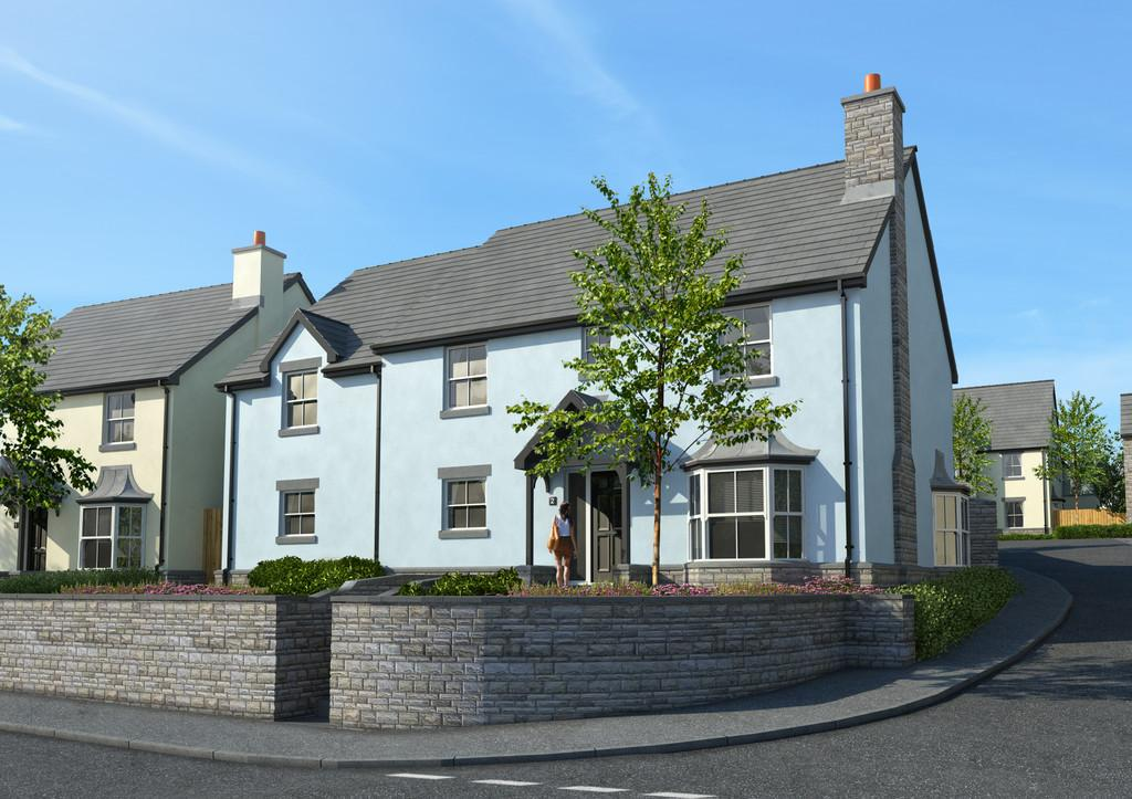 5 Bedrooms Detached House for sale in No.2 The Paddocks, Heol Yr Ysgol, Coity, Bridgend, CF35 6BL