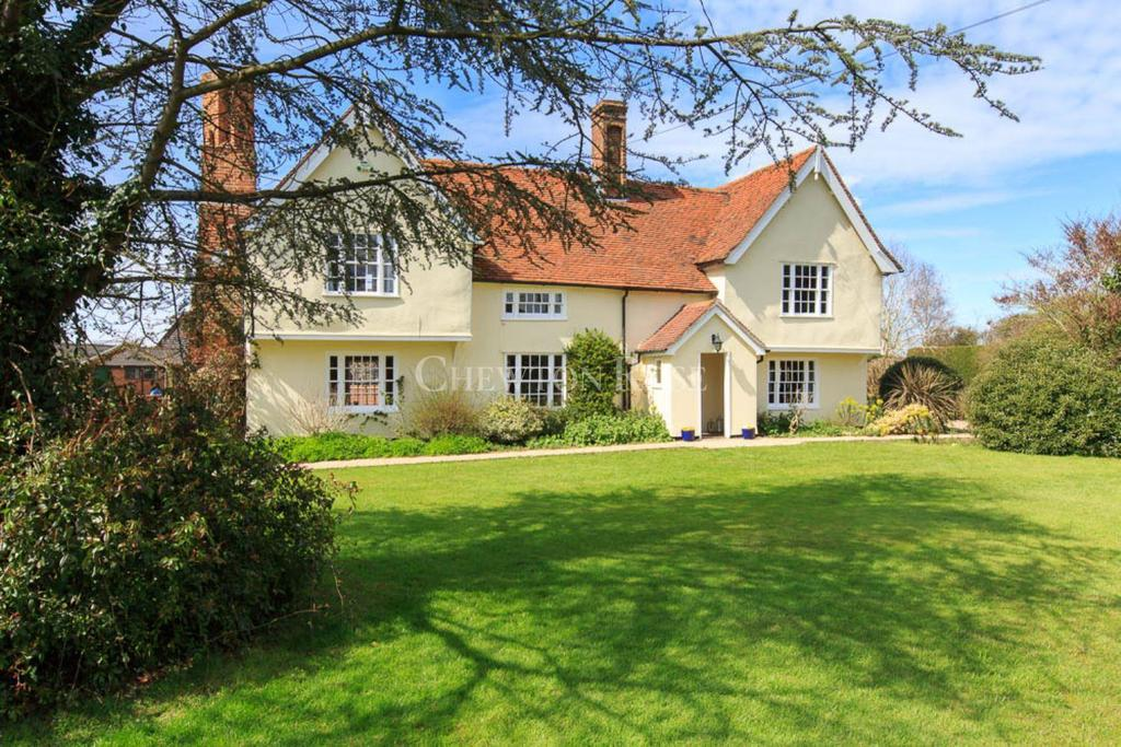 5 Bedrooms Detached House for sale in West Bergholt