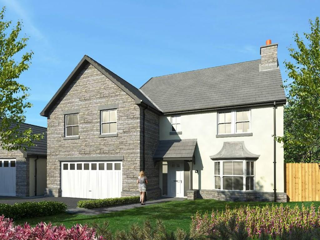 4 Bedrooms Detached House for sale in No.6 The Paddocks, Heol Yr Ysgol, Coity, Bridgend, CF35 6BL