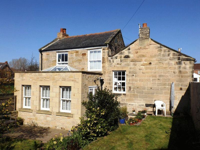 3 Bedrooms Detached House for sale in Bennetts Walk, Morpeth, Three Bedroom Stone Detached