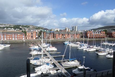 1 bedroom apartment to rent - Meridian Wharf, Trawler Road, Marina, Swansea, SA1 1LB
