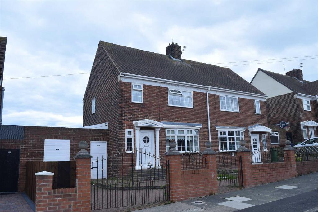 2 Bedrooms Semi Detached House for sale in Mariville East, Ryhope, Sunderland