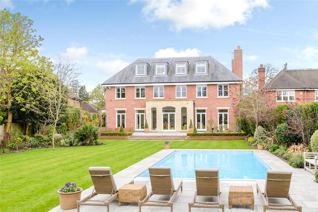 6 Bedrooms Detached House for sale in Sandown Road, Esher, Surrey, KT10