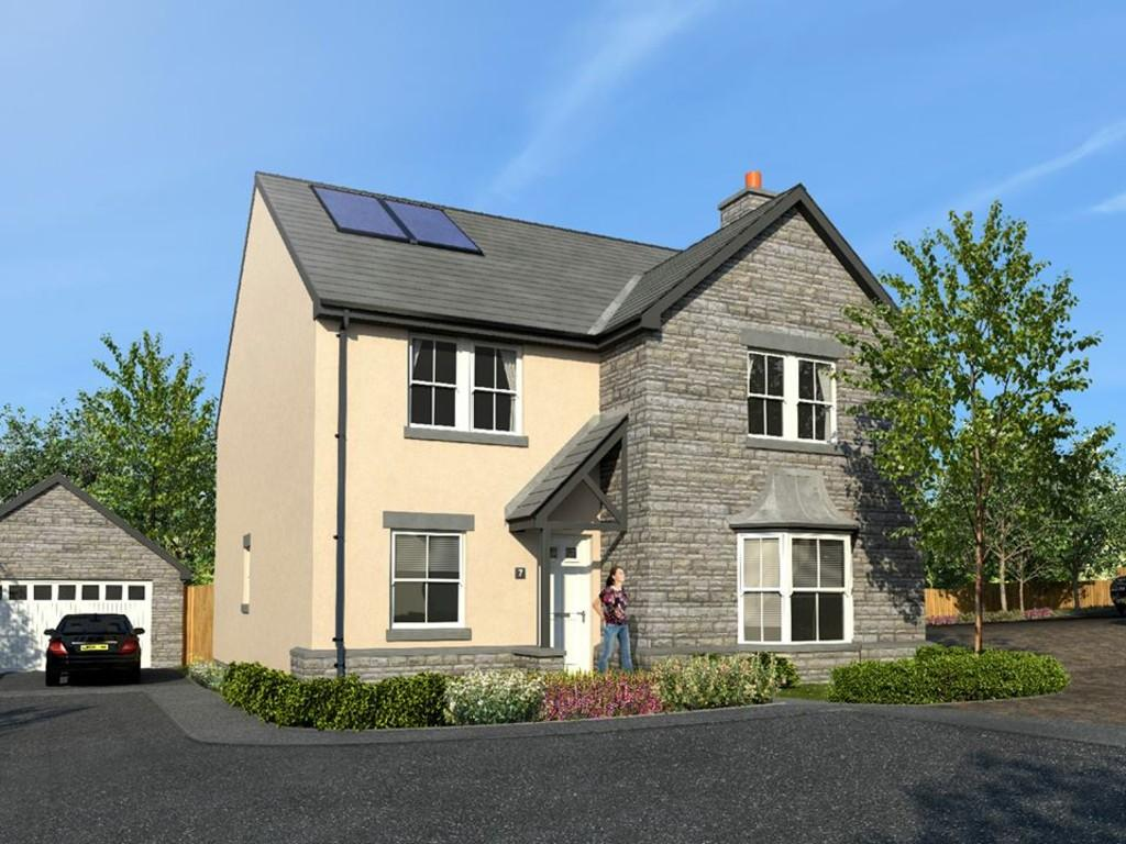 4 Bedrooms Detached House for sale in No.7 The Paddocks, Heol Yr Ysgol, Coity, Bridgend, CF35 6BL