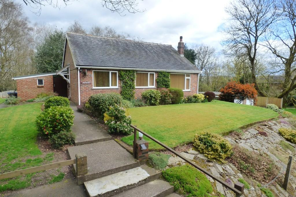 3 Bedrooms Detached Bungalow for sale in Harplow Lane, Cheadle, Staffordshire