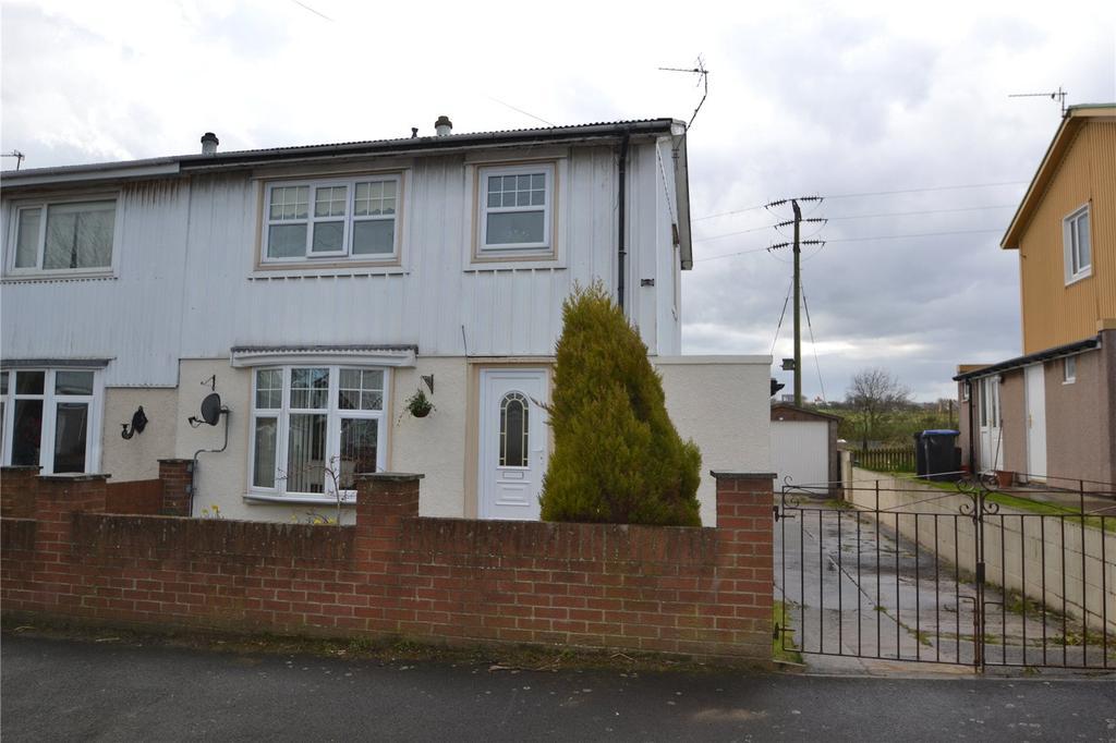 3 Bedrooms Semi Detached House for sale in Oak Road, Easington Colliery, Co Durham, SR8