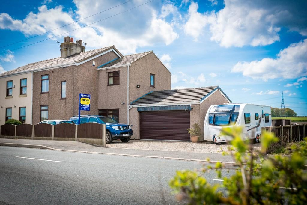 4 Bedrooms Semi Detached House for sale in Catchdale Moss Cottages, Catchdale Moss Lane, Eccleston, St. Helens