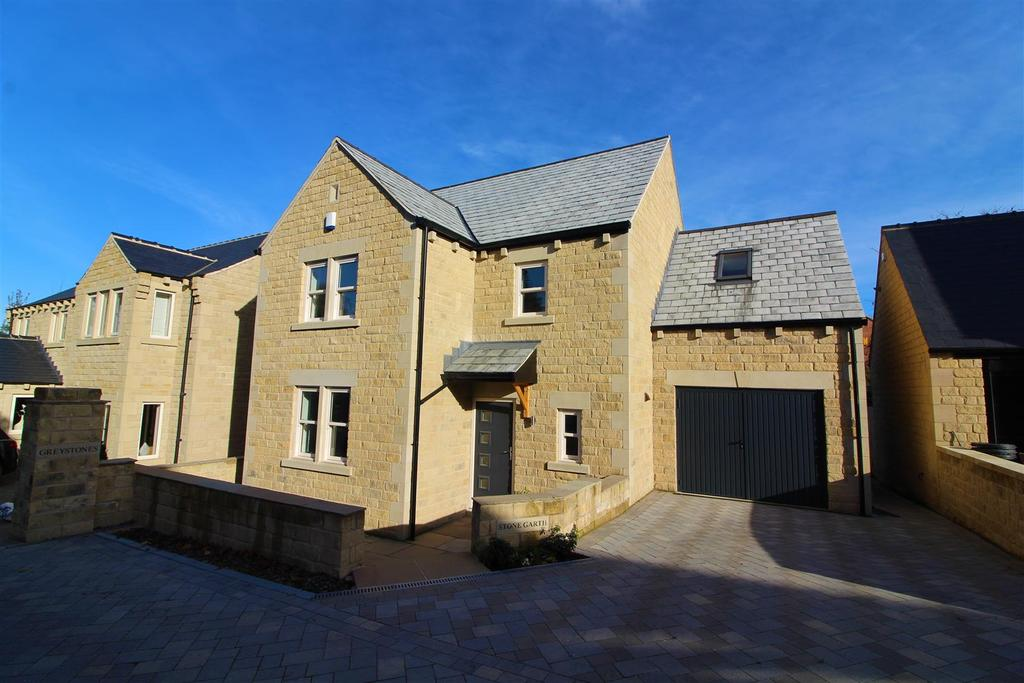 4 Bedrooms Detached House for sale in Stone Garth, Off Bond Road, Barnsley, S75 2TW