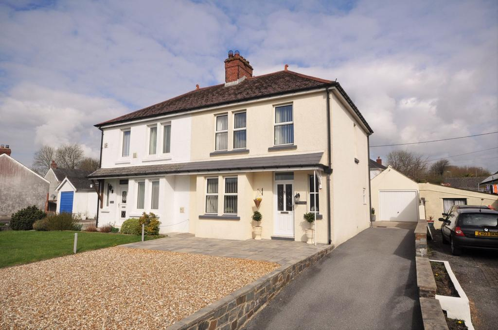 3 Bedrooms Semi Detached House for sale in Haulfryn, Travellers Rest, Carmarthen SA31 3RS