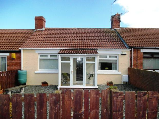 2 Bedrooms Terraced Bungalow for sale in RANKSBOROUGH STREET, SEAHAM, SEAHAM DISTRICT