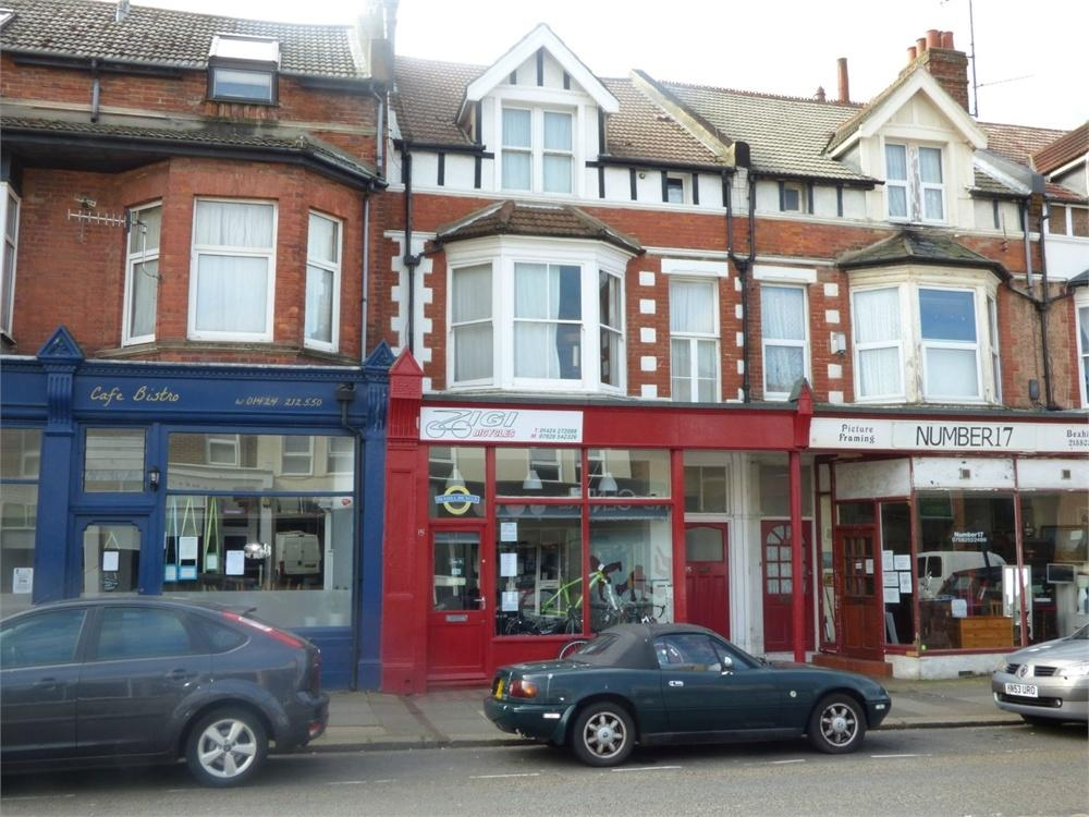 1 Bedroom Terraced House for sale in Wickham Avenue, Bexhill on Sea