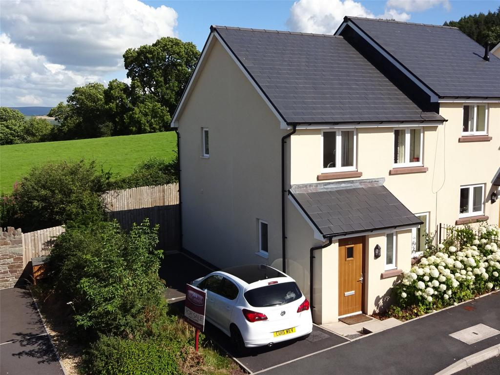 3 Bedrooms End Of Terrace House for sale in St. Davids Park, Llanfaes, Brecon, Powys