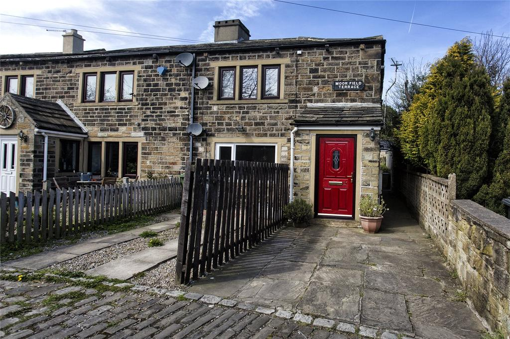 2 Bedrooms Apartment Flat for sale in Moorfield Terrace, Knowles Hill, Dewsbury, West Yorkshire, WF13