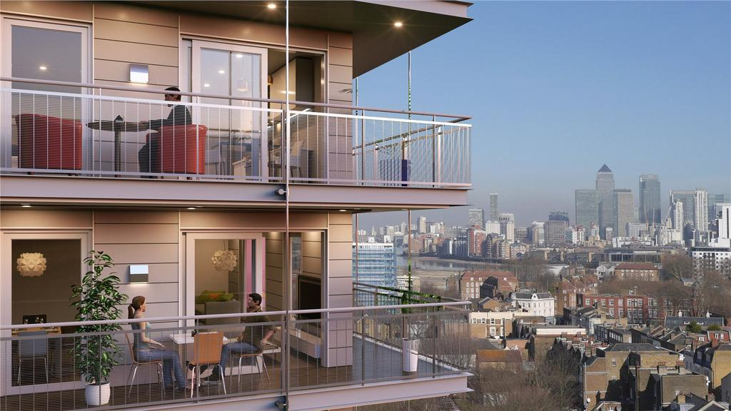2 Bedrooms Flat for sale in The Deptford Project, 2 Octavius Street, London, SE8