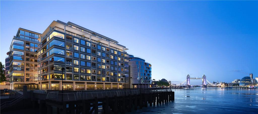 3 Bedrooms Penthouse Flat for sale in Landmark Place At Tower Bridge, Water Lane, London, EC3R