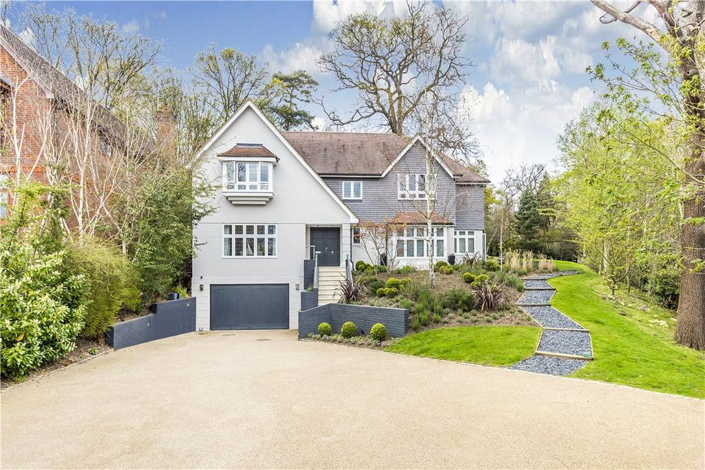 6 Bedrooms Detached House for sale in Beech Ridge, Coombe Park, Kingston, KT2