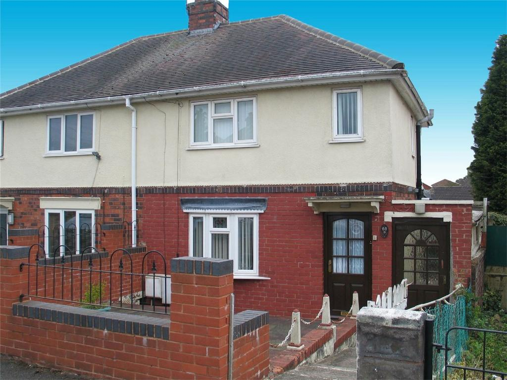 2 Bedrooms Semi Detached House for sale in Bankwell Street, BRIERLEY HILL, West Midlands
