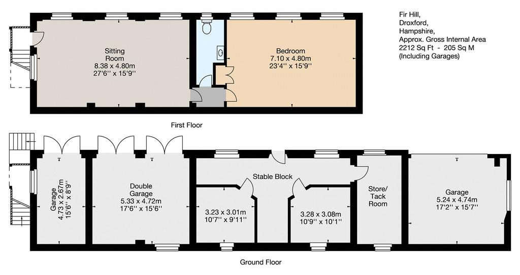 Floorplan 2 of 2: Stable Block